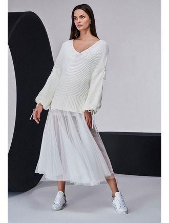 Conjunto-Blusa-de-Tricot-e-Saia-Longa-de-Tule-Off-White