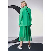 Conjunto-Camiseta-Moletinho-e-Saia-de-Tule-Verde