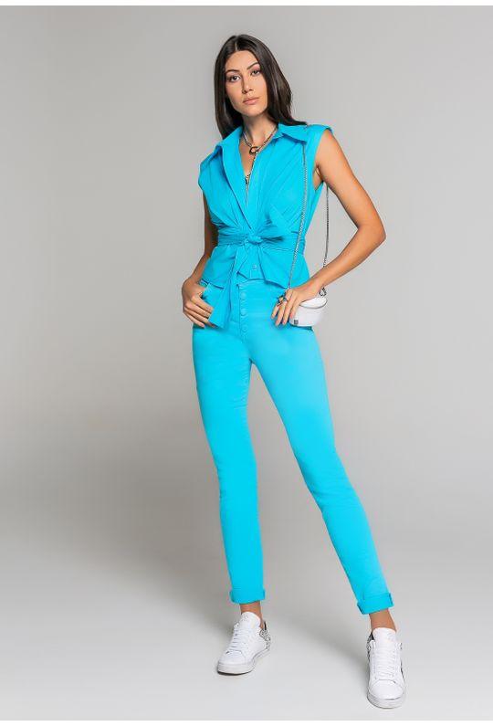 Camiseta-C--Gola-E-Patte--Com-Laco-Para-Amarracao-Azul-Piscina