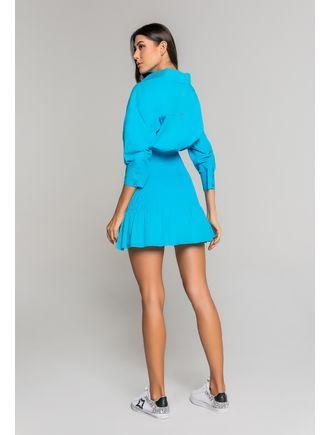 Vestido-De-Tricoline-Franzido-Com-Gola-E-Patte-Azul-Piscina