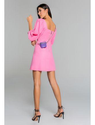 Vestido-Curto-De-Tricoline-C--Manga-Bufante-E-Fren-Rosachiclete