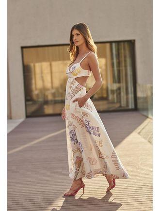 Vestido-Longo-Com-Abertura-Lateral-Estampa-Freedom-Off-White