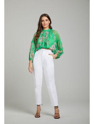 Camisa-Dupla-Com-Botoes-Estampa-Orchid-Verde