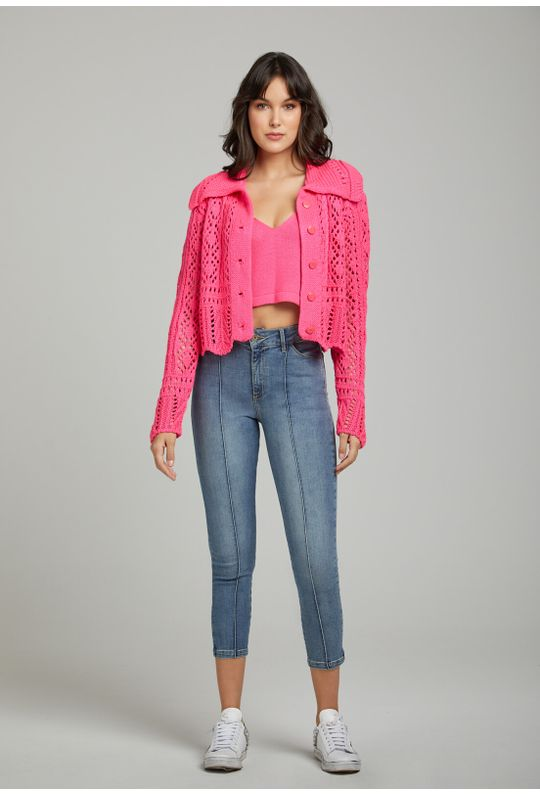 Cardigan-Tricot-Top-Pink