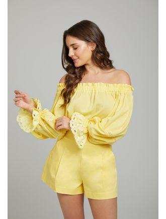 Conjunto-Blusa-C--Entremeio-E-Short-Alafaiataria-Amarelo
