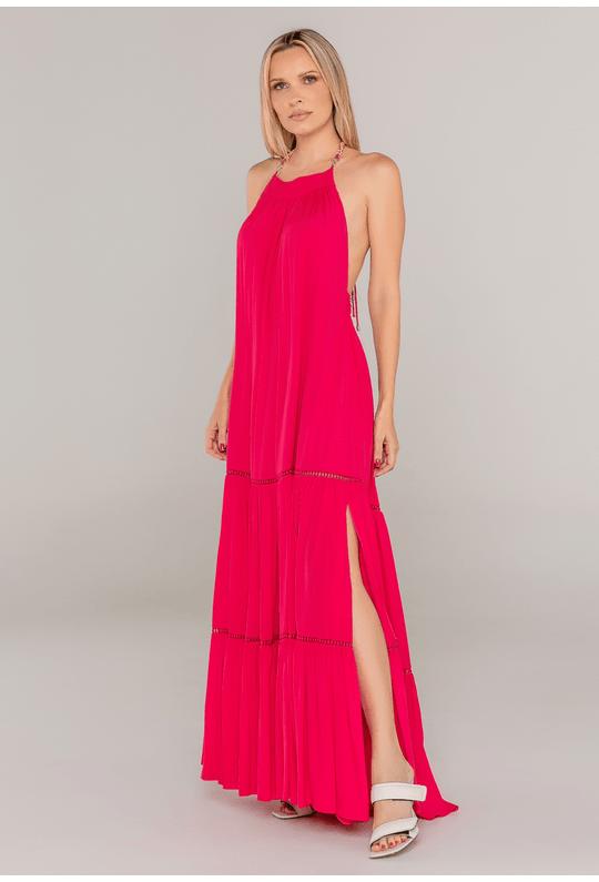 Vestido-Longo-Frente-Unica-Rosa