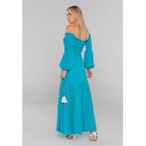 Vestido-Longo-Com-Lastex-No-Busto-Azul