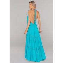 Vestido-Longo-Frente-Unica-Azul