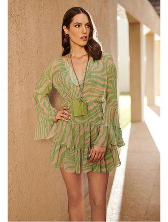 Vestido-Com-Top-Estampa-Zebra-Verde