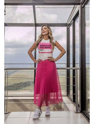Conjunto-Camiseta-Moletinho-e-Saia-de-Tule-Pink