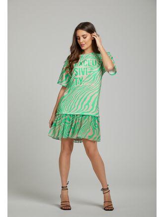 Vestido-Curto-Est.-Zebra-Colorida-Verde