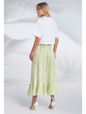Saia-Midi-Estampa-Fleur-Poa-Lime